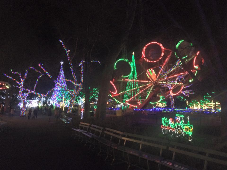 Kennywood Park\'s Holiday Lights event sparkles – Christmas 365